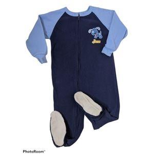5/$25 Carter's Blue Footies Size 3T